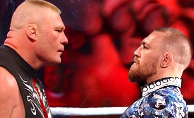 Conor McGregor questions manhoods of WWE superstars especially Brock lesnarWhen Conor was asked about if he ever wants to be with WWE, he went off.