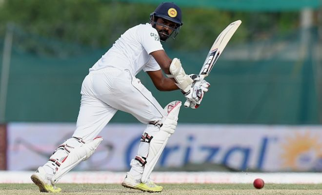 4th Test fifty for Lahiru Thirimanne there from 142 balls. SL 207-3, trail by 186.