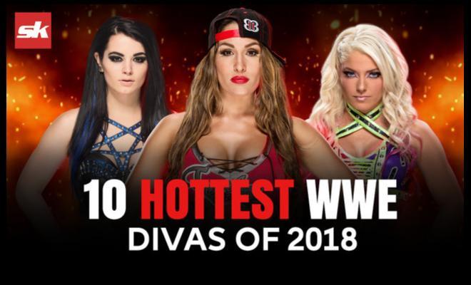 Top 10 WWE Divas Wardrobe Malfunctions - Hubviral
