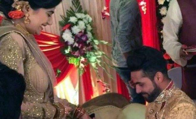 In pics: Ravindra Jadeja's big day.