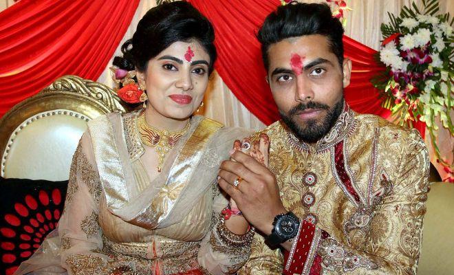 In pics: Ravindra Jadeja gets engaged.