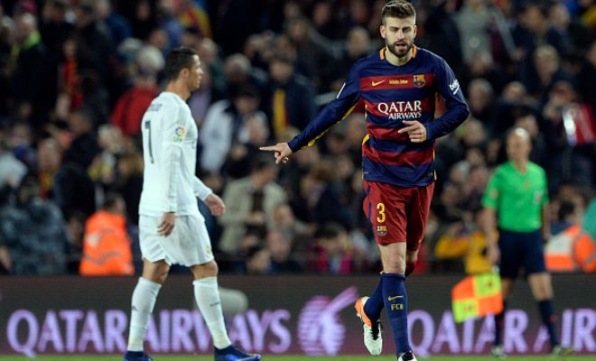 Gerard Pique got his much-wanted goal in an El Clasico