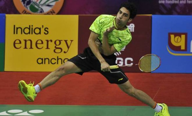 In a hard fought contest, India's RMV Gurusaidutt was ousted in three games by Japan's Takuma Ueda 22-20 13-21 21-16 in 72 minutes in the third roundd of the 2015 US Open Grand Prix Gold on Thursday.