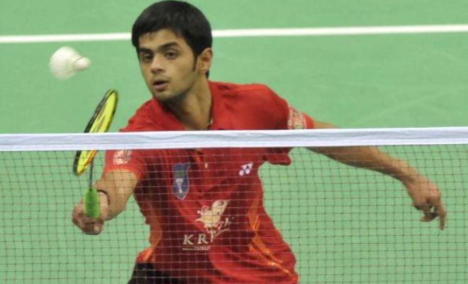 India's Sai Praneeth progressed through to the quarterfinals of the US Open Grand Prix Gold after beating China's Huang Yuxiang 21-17 16-21 21-18 in 58 minutes in the third round on Thursday.
