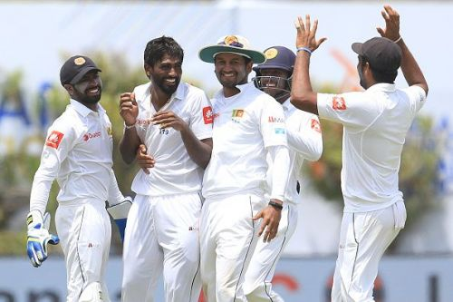 Pradeep grabbed his first fifer in Tests and went on to add a sixth