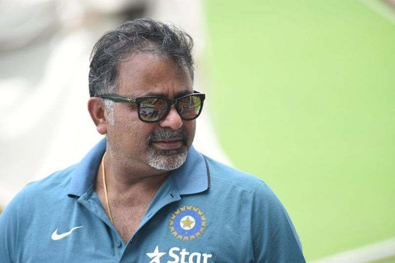 The current bowling coach of India played both of his Tests against Sri Lanka