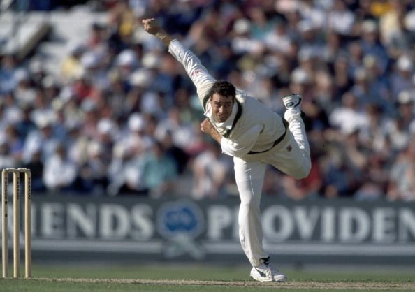 Michael Bevan was more than handy with his left-arm wrist spin