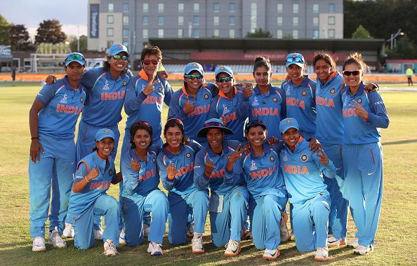 Indian Womens Cricket Team Felicitated By The Sports Minister In