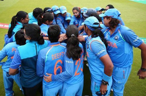 The Indian Women's cricket team