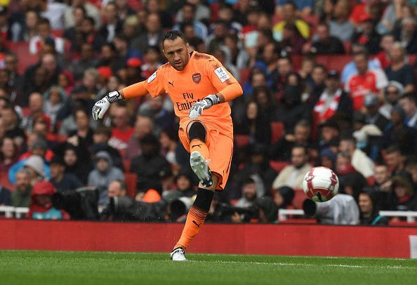 The occasional brain fades that Ospina suffers has not helped his case either
