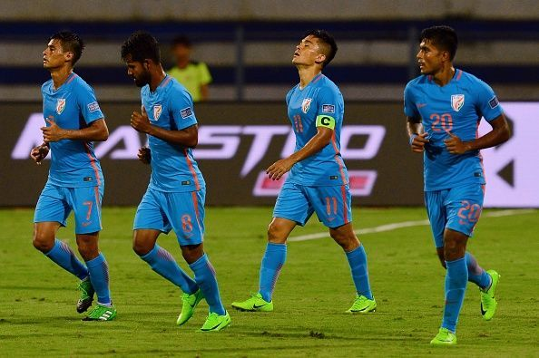 new styles 76be5 57a85 Indian football team jerseys to be made available a month ...