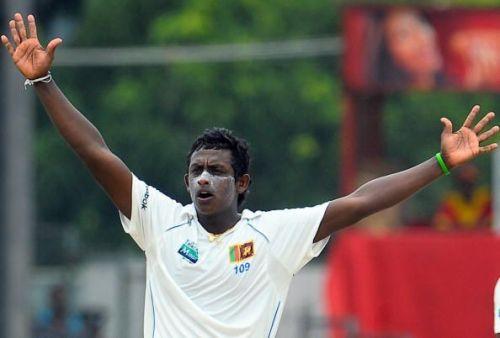 Sri Lankan cricketer Ajantha Mendis unsu : News Photo