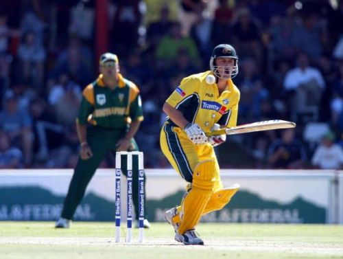 Gilchrist was absolutely brilliant at the top in ODIs