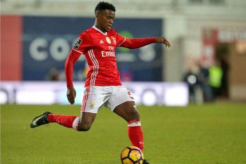 Nelson Semedo in action for Benfica
