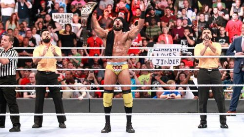 Jinder Mahal successfully left SummerSlam with the WWE Championship