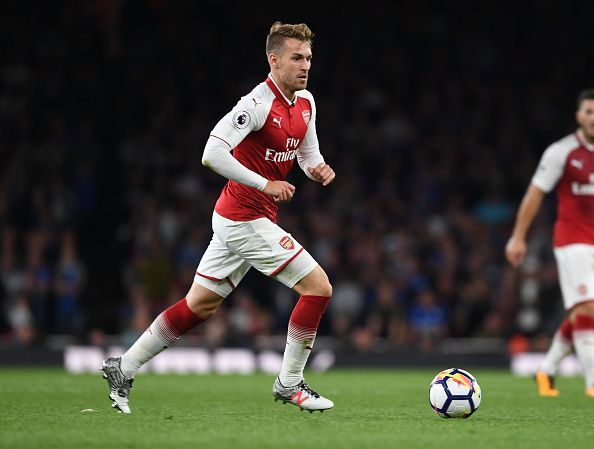 Image result for aaron ramsey premier league