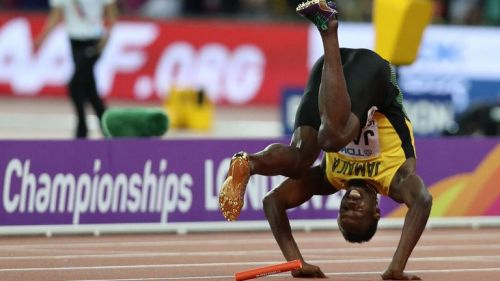 Why Usain Bolt stopped running in his final ever race