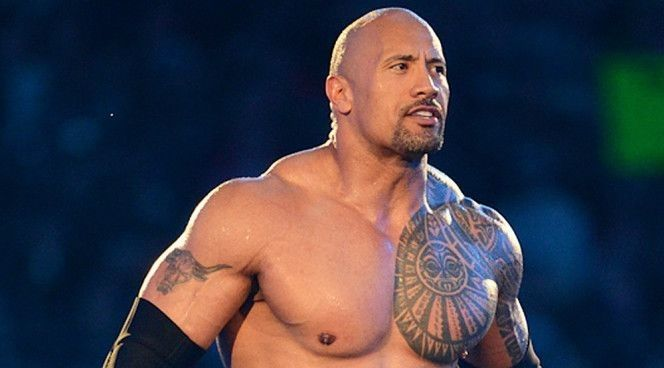 WWE News: The Rock alters his legendary Brahma Bull tattoo ...