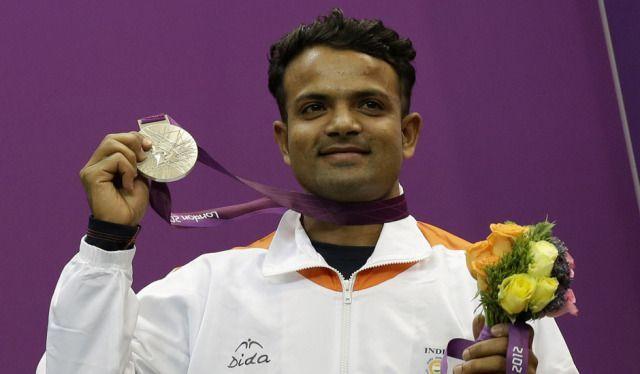 Capt. Vijay Kumar at the London Olympics, 2012