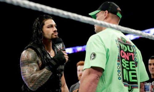 Cena vs Reigns is happening!