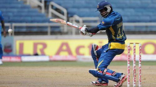 Tharanga's 174 helped Sri Lanka beat India by 161 runs