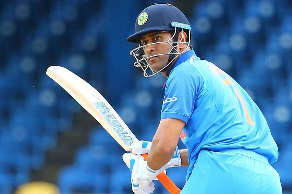 Another day and Dhoni claimed another world record