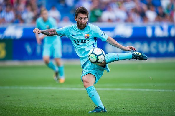5c0d4a28c Twitter goes wild as Lionel Messi makes La Liga history with brace against  Alaves