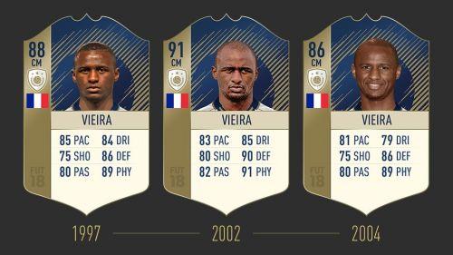 Vieira in FIFA 18