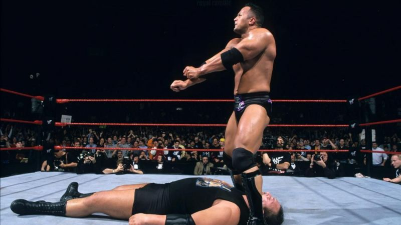 The Rock won Royal Rumble in 2000