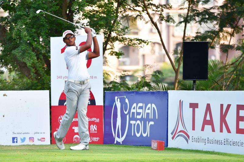 Viraj was the best placed Indian, lying second at 5 under-par
