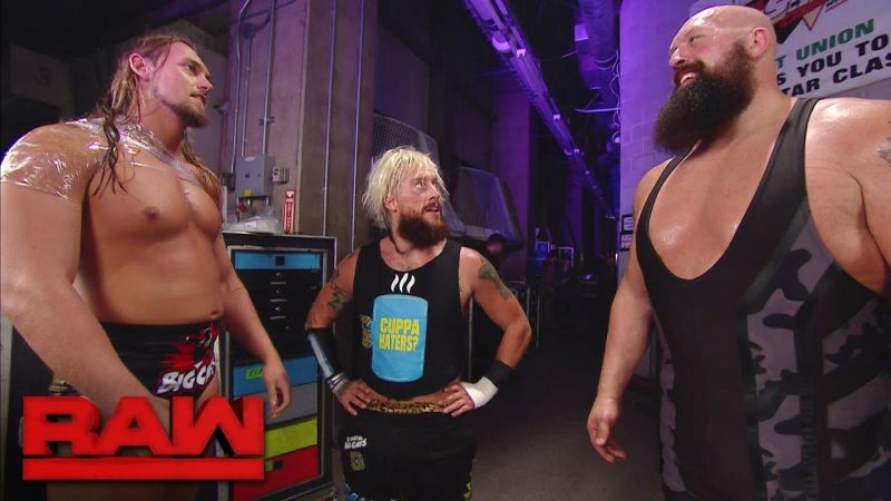 Big Cass And The Show Closed Monday Night Raw