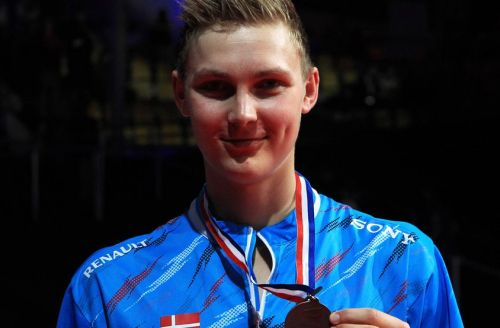 Axelsen has the European and Thomas Cup titles to his name