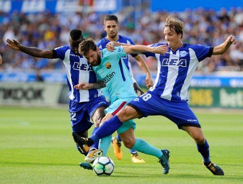 Deportivo Alaves v Barcelona