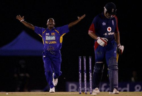 Sanath Jayasuriya has picked up 323 wickets in ODIs
