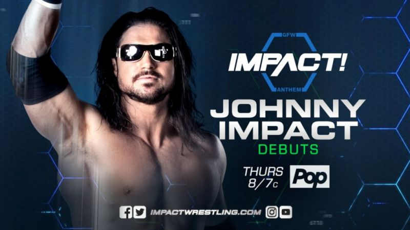 Johnny Impact arrived in GFW this past week