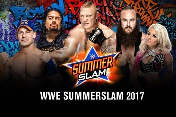 WWE SummerSlam 2017 matches, start time, live stream and TV