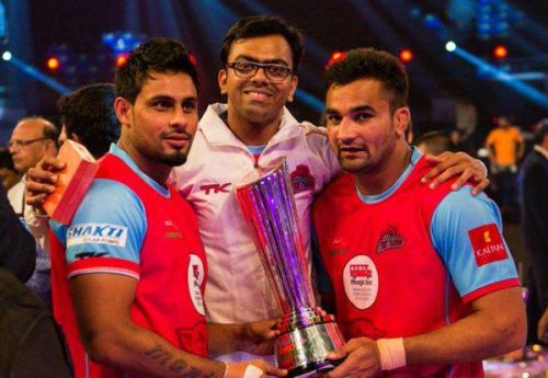 Maninder (left) won the PKL in Season 1