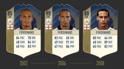 Rio Ferdinand in FIFA 18