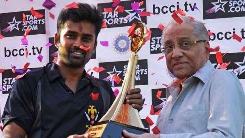 Vinay Kumar led Karnataka to domestic treble twice in two seasons