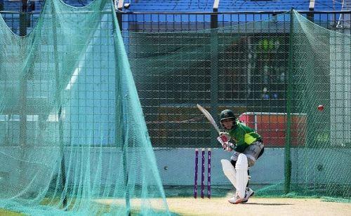 Mushfiqur Rahim training