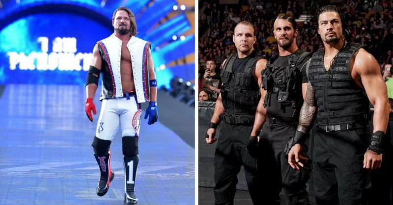 From the WWE Rumor Mill: AJ Styles & The Shield DVDs