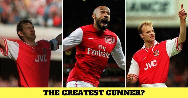 Greatest 10 Arsenal players Henry Bergkamp Adams