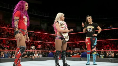 Bayley (R) made a return to Raw this week which again saw a low turnout
