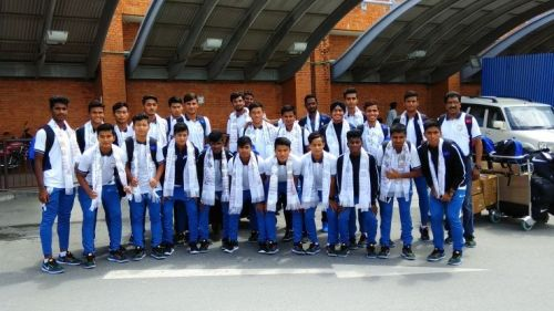 The India U16 Team