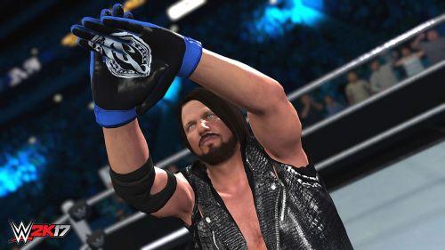 AJ Styles in WWE 2K18