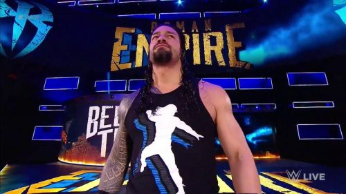 Roman Reigns used Alex Riley's name in a promo against John Cena!