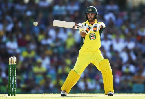 Glenn Maxwell needs a big score to cement his spot in the side