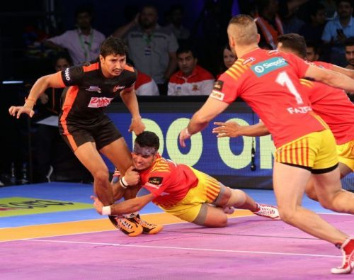 Gujarat has had a great season owing mainly to the defensive skill of Abozar and Fazel