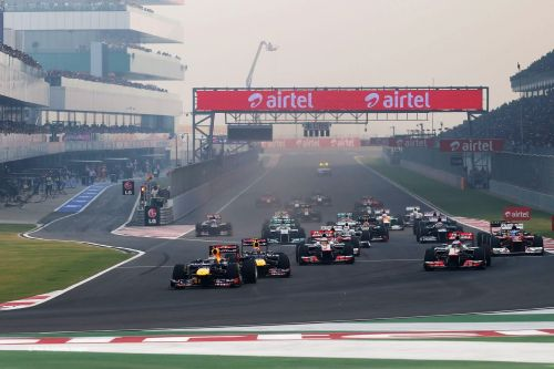 The Indian GP was last held in 2013