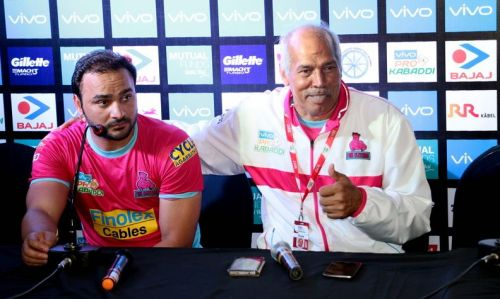The Jaipur coach was full of praise for his star man